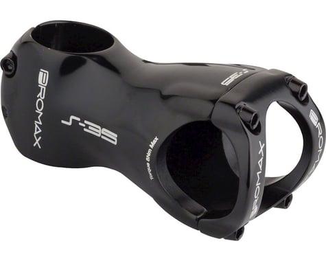 """Promax S-35 Stem - 70mm, 35 Clamp, +/-0, 1 1/8"""", Aluminum, Black"""