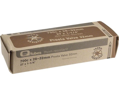 Q-Tubes 700c Thorn Resistant Inner Tube (Presta)
