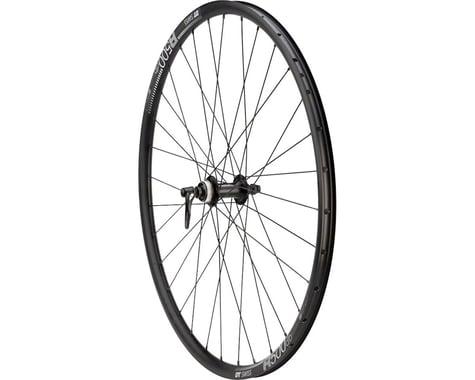 Quality Wheels 105/DT R500 Disc Front Wheel (Black) (QR x 100mm) (700c / 622 ISO)