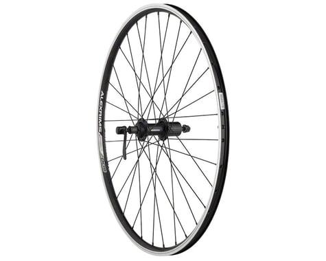 """Quality Wheels Value Rim Brake Rear Wheel (Black) (Shimano/SRAM) (QR x 135mm) (26"""" / 559 ISO)"""