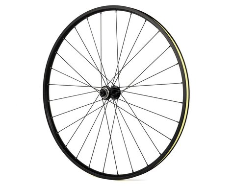 Quality Wheels Value Double Wall Disc/Rim Brake Front Wheel (Black) (12 x 100mm) (700c / 622 ISO)