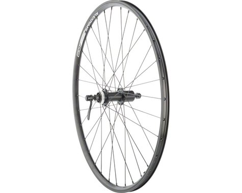 "Quality Wheels Value Double Wall Series Rim/Disc Rear Wheel (Black) (Shimano/SRAM) (QR x 135mm) (26"" / 559 ISO)"