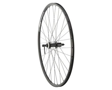 Quality Wheels Value Double Wall Series Disc/Rim Rear Wheel (Black) (Shimano/SRAM) (QR x 135mm) (700c / 622 ISO)