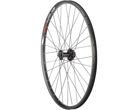 """Quality Wheels Value Double Wall Series Disc Front Wheel (Black) (QR x 100mm) (26"""" / 559 ISO)"""