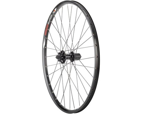 "Quality Wheels Value Double Wall Series Disc Rear Wheel (Black) (Shimano/SRAM) (QR x 135mm) (26"" / 559 ISO)"