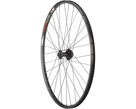 """Quality Wheels Value Double Wall Series Disc Front Wheel (Black) (QR x 100mm) (29"""" / 622 ISO)"""