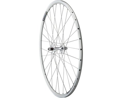 Quality Wheels Value Double Wall Series Track Front Wheel (Silver) (9 x 100mm) (700c / 622 ISO)