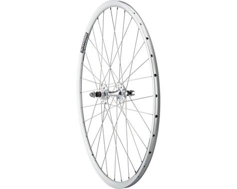 Quality Wheels Value Double Wall Series Track Rear Wheel (Silver) (Freewheel) (10 x 120mm) (700c / 622 ISO)
