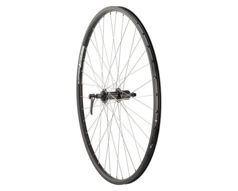 Quality Wheels Deore/DH19 Mountain Rear Wheel (Black) (Shimano/SRAM) (QR x 135mm) (700c / 622 ISO)