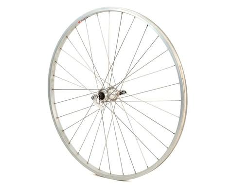 Quality Wheels Value Series Rear Road Wheel (Silver) (Freewheel) (QR x 130mm) (700c / 622 ISO)