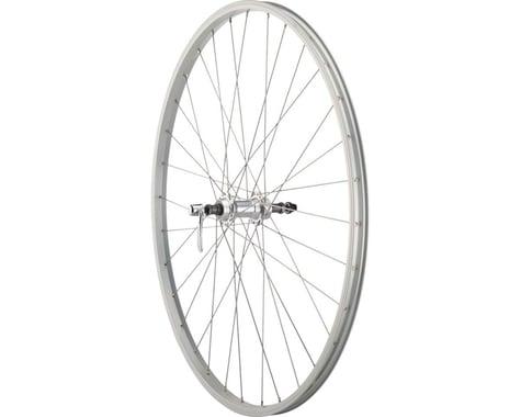 Quality Wheels Value Series Rear Road Wheel (Silver) (Freewheel) (QR x 135mm) (700c / 622 ISO)