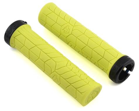 Race Face Getta Grips (Lock-On) (Yellow/Black) (30mm)
