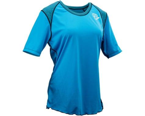 Race Face Indiana Women's Short Sleeve Jersey (Blue)