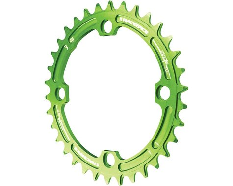 Race Face Narrow-Wide Chainring (Green) (104mm BCD) (Offset N/A) (38T)