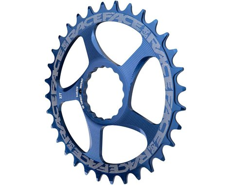 Race Face Narrow-Wide Direct Mount Cinch Chainring (Blue) (3mm Offset (Boost)) (26T)