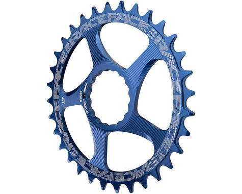 Race Face Narrow-Wide Direct Mount Cinch Chainring (Blue) (3mm Offset (Boost)) (32T)