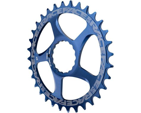 Race Face Narrow-Wide Direct Mount Cinch Chainring (Blue) (3mm Offset (Boost)) (34T)