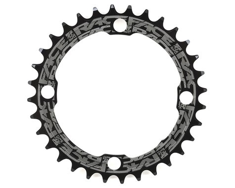 Race Face Narrow-Wide Single Chain Ring (104 BCD) (Black)