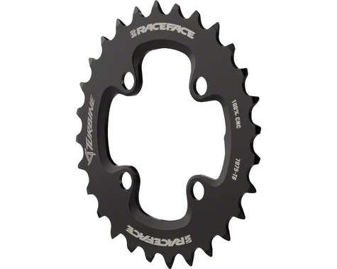 Race Face Turbine 11 Speed Chainring (Black) (64mm BCD) (Offset N/A) (24T)