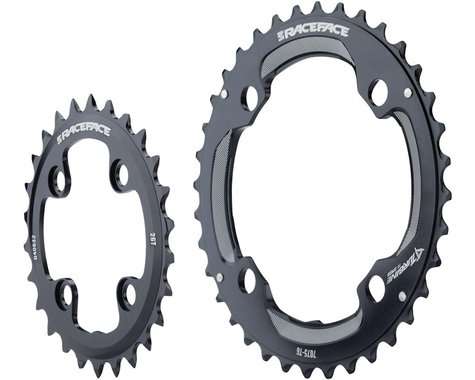 Race Face Turbine 11 Speed Chainring Set (Black) (64mm x 104mm BCD) (Offset N/A) (28/38T)