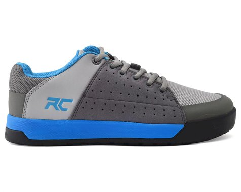 Ride Concepts Youth Livewire Flat Pedal Shoe (Charcoal/Blue) (Youth 3)