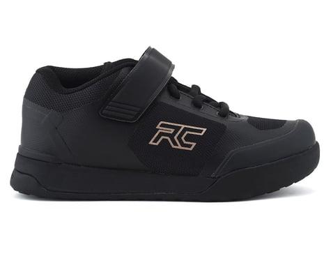 Ride Concepts Women's Traverse Clipless Shoe (Black/Gold) (5)