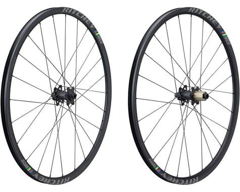 Ritchey WCS Zeta Disc Wheelset (Black) (Shimano/SRAM 11spd Road) (12 x 100, 12 x 142mm) (700c / 622 ISO)