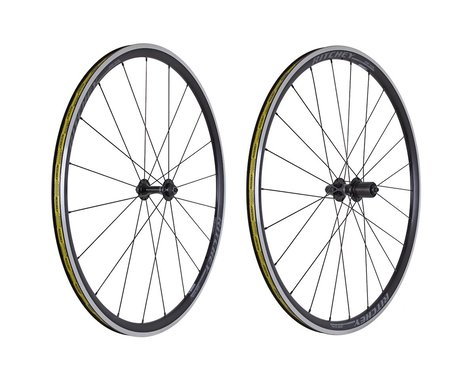 Ritchey Zeta Comp Wheelset (Black) (Shimano/SRAM 11spd Road) (QR x 100, QR x 130mm) (700c / 622 ISO)