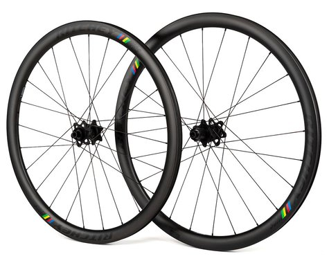 Ritchey WCS Apex 38 Carbon Road Disc Wheelset (Black) (Shimano/SRAM 11-Speed) (700c)