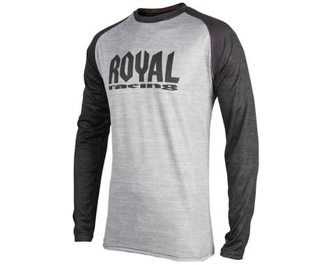 Royal Racing Heritage LS Jersey (Grey/Black)