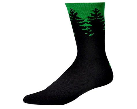 """Save Our Soles Evergreen 7"""" Socks (Green)"""