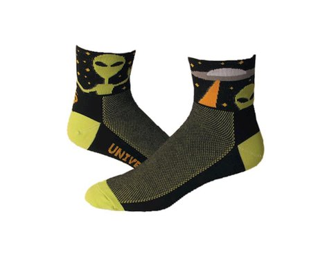 """Save Our Soles Universal Peace 2.5"""" Socks (Black)"""