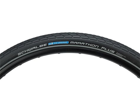 "Schwalbe Marathon Plus Tire (Black) (1.5"") (27.5"" / 584 ISO)"