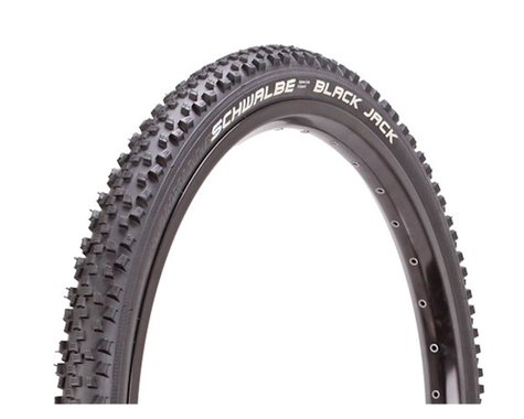 "Schwalbe Black Jack Mountain Tire (Black) (1.9"") (24"" / 507 ISO)"