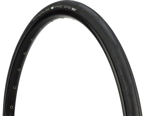 Schwalbe Pro One Tubeless Road Tire (Black) (30mm) (700c / 622 ISO)