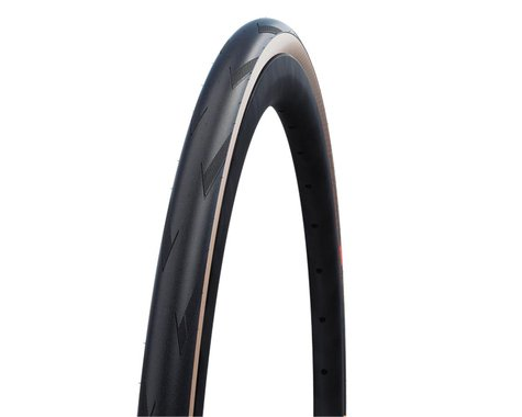 Schwalbe Pro One Super Race Tubeless Road Tire (Black/Transparent) (28mm) (700c / 622 ISO)