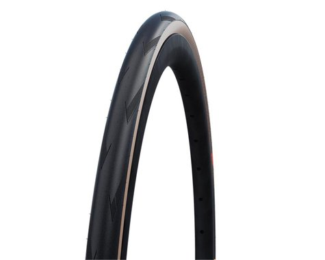 Schwalbe Pro One Super Race Tubeless Road Tire (Black/Transparent) (30mm) (700c / 622 ISO)