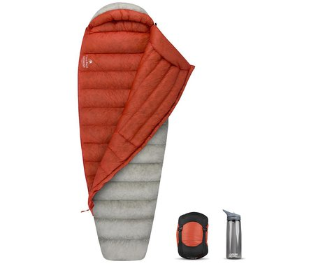 Sea To Summit Flame Ultralight Women's Sleeping Bag (Orange) (Regular) (25°F)