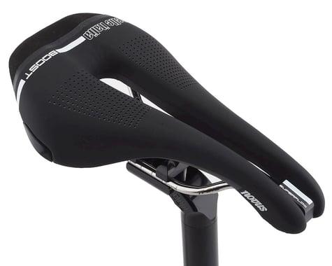 Selle Italia Novus Boost Superflow Saddle (Black) (Titanium Rails)