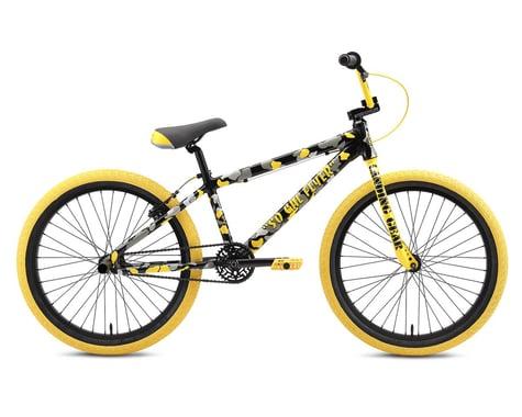 "SE Racing SO Cal Flyer 24"" BMX Bike (Yellow Camo) (21.3"" TopTube)"