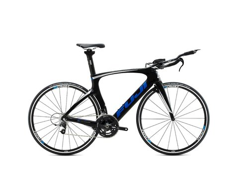 SE Racing Fuji Norcom Straight 2.3 Triathlon Road Bike - 2015 (Carbon Blue) (55)