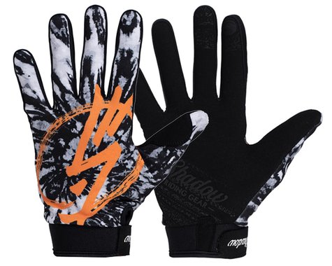 The Shadow Conspiracy Conspire Gloves (Tangerine Tie-Dye) (XS)