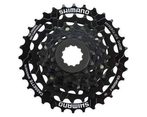 Shimano Tourney CS-HG200 Cassette (Black) (7 Speed) (Shimano/SRAM) (12-32T)