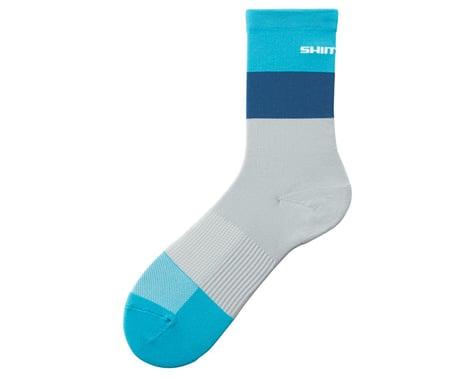 Shimano Original Tall Socks (Grey/Mint)