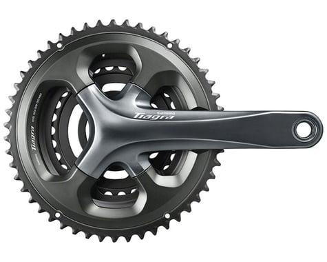 Shimano Tiagra 4703 Crankset (Grey) (3 x 10 Speed) (Hollowtech II) (172.5mm) (50/39/30T)