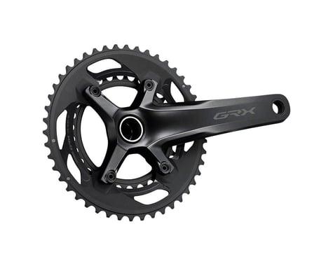 Shimano GRX FC-RX600 Crankset (Black) (2 x 10 Speed) (Hollowtech II) (175mm) (46/30T)