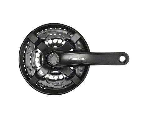 Shimano Tourney FC-TY501 Crankset (Black) (3 x 6/7/8 Speed) (Square Taper) (170mm) (48/38/28T)