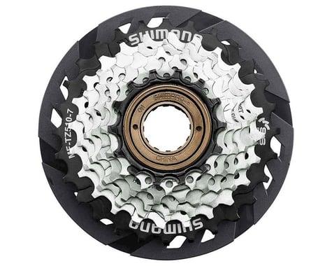 Shimano TZ510 7-Speed Freewheel Sprocket (Silver/Black) (14-28T)
