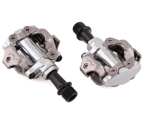 Shimano M540 Mountain Pedals w/ Cleats (Silver)