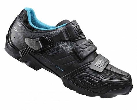 Shimano SH-WM64L Women's Bike Shoes (Black)